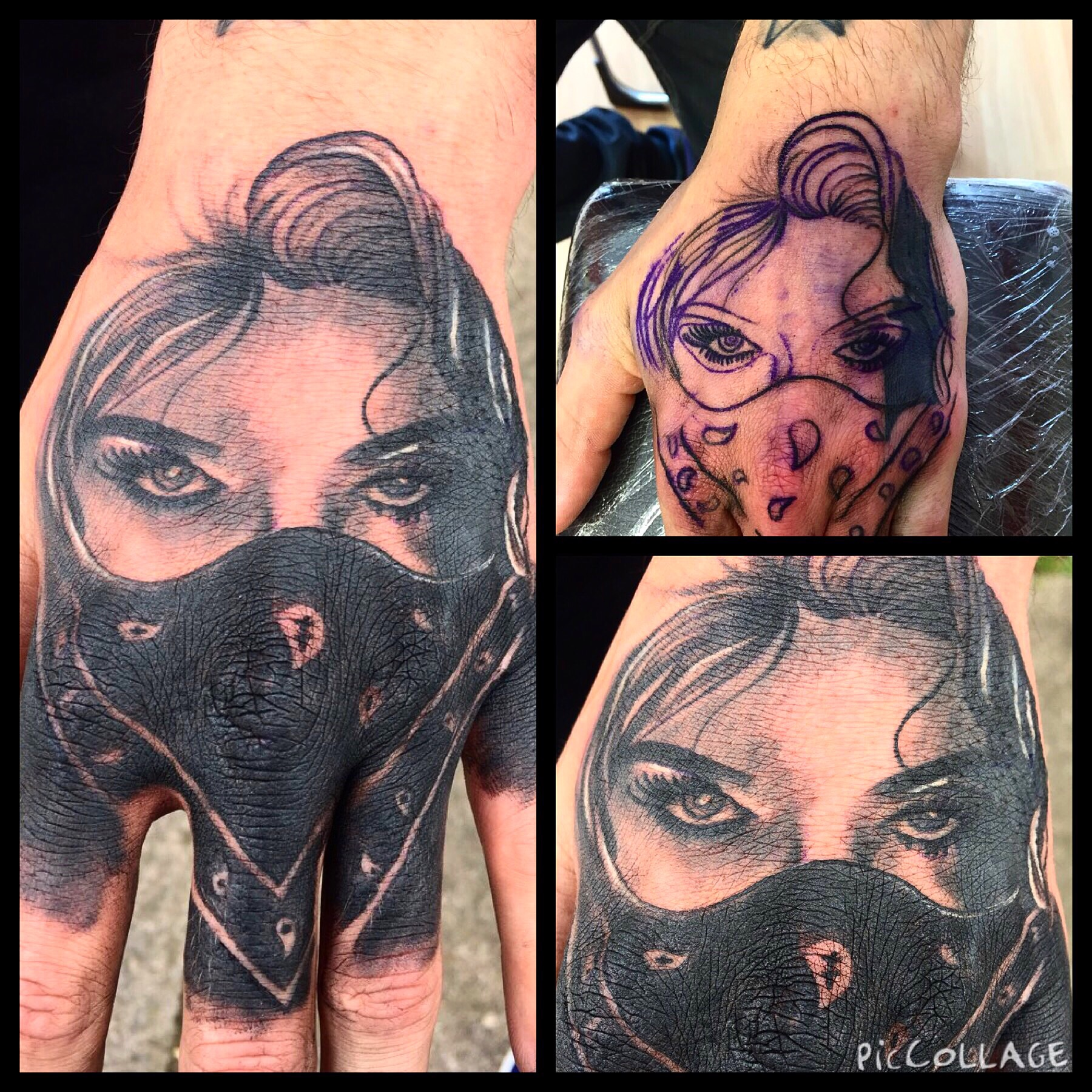 Hand Piececover Up By Jay Victoria Road Tattoo